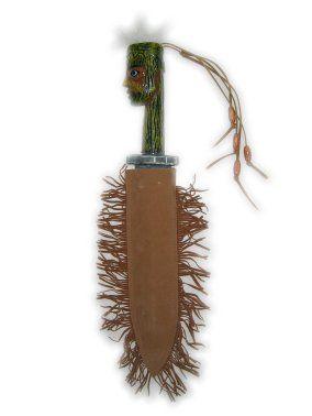 Indianen dolk handwerk in schede