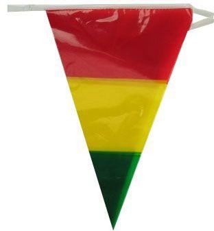 Vlaggenlijn rood geel groen 60m