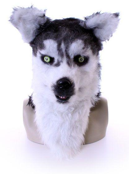 Volledig masker Husky Wolf