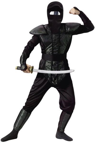 Carnavalskledij Ninja outfit