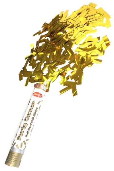 Partycanon goud papier 30 cm papier strip