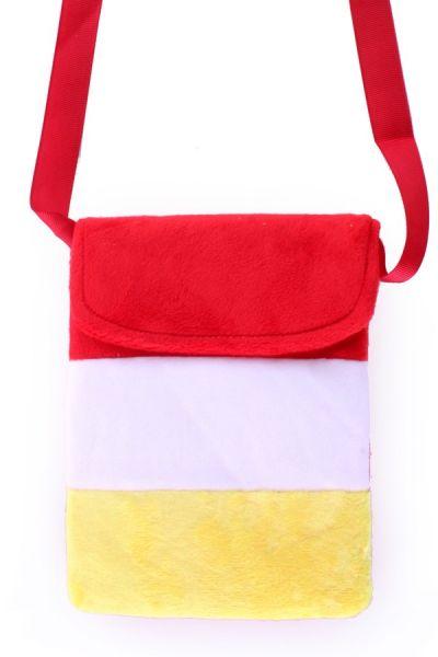 Tasje rood wit geel