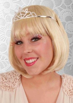 Strass diadeem prinsses kroon