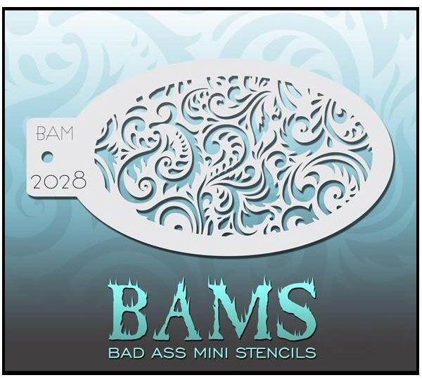Bad Ass BAM schmink sjablonen 2028