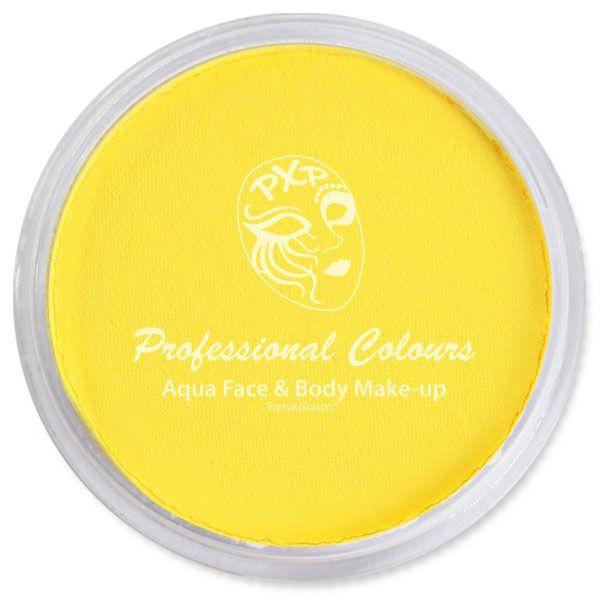 PartyXplosion schmink zonnebloem geel