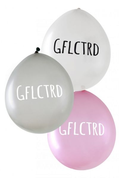 Metallic ballonnen Gflctrd per 24 stuks