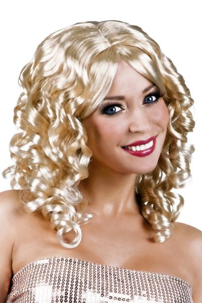 Cocktailpruik blond