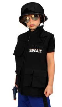 Carnavalskledij S.W.A.T. vest kind