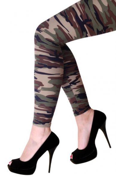 Militaire Legging camouflage