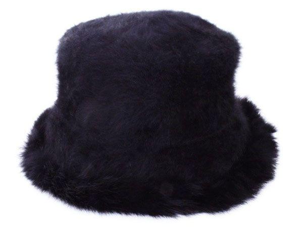 Damesmuts pot model zwart luxe