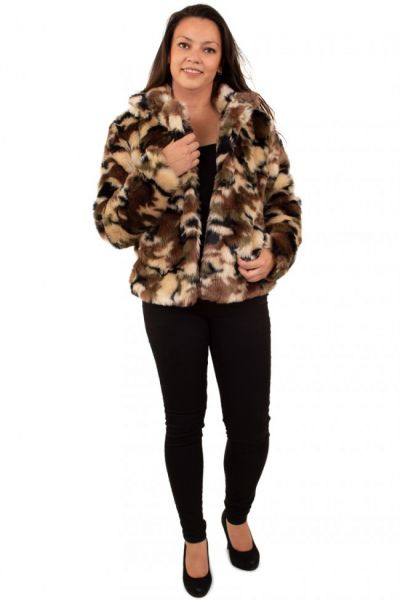 Dames Bontjas camouflage