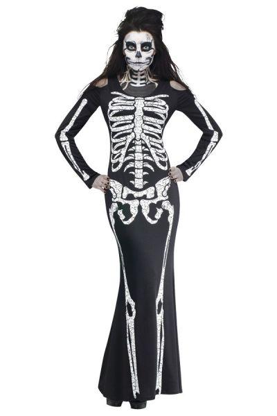 Skelet Voor Halloween.Halloween Skelet Botten Kleedje