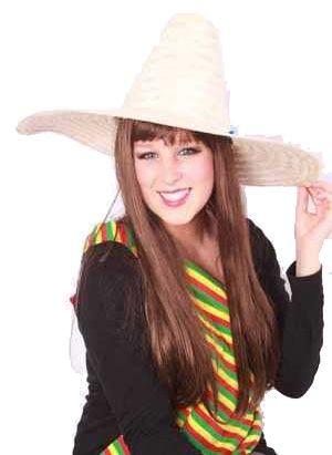 Mexicaanse Sombrero strohoed
