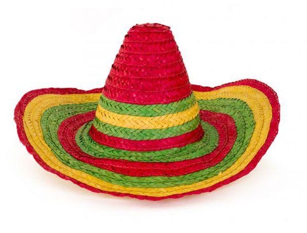 Mexicaanse Sombrero kleurrijke strohoed