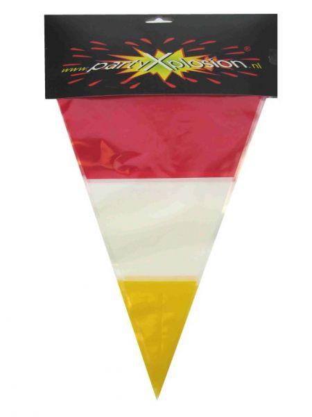 Vlaggenlijn rood wit geel