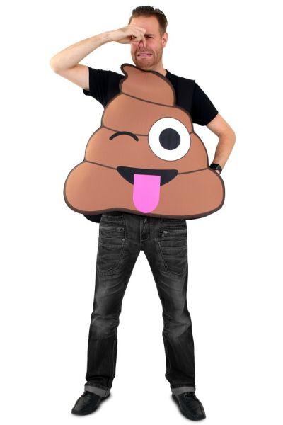 Emoticon poepdrol kostuum Imoji