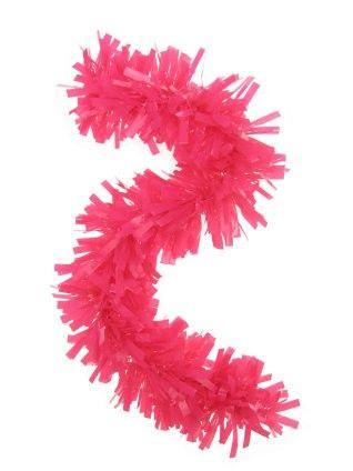 Plastic slinger roze 10 meter brandveilig