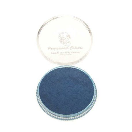 Aqua face paint FSWS P3W-metallic dark blue PartyXplosion