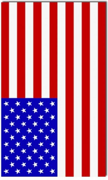 Amerikaanse Vlag USA Amerika 90 x150 cm