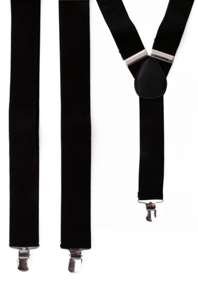 Bretels kleur zwart