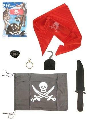 Piraten set 6 delig