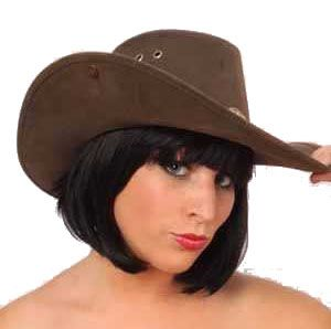 Cowboyhoed Nevada leatherlook