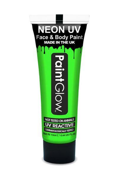 PaintGlow neon UV schmink groen