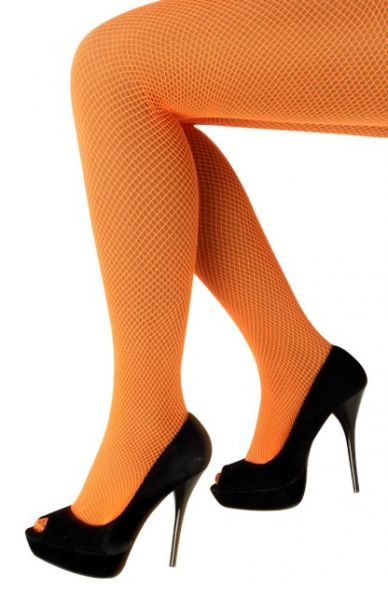 Netpanty fluor oranje
