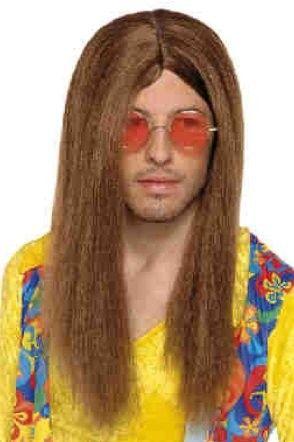 Hippie John Lennon pruik