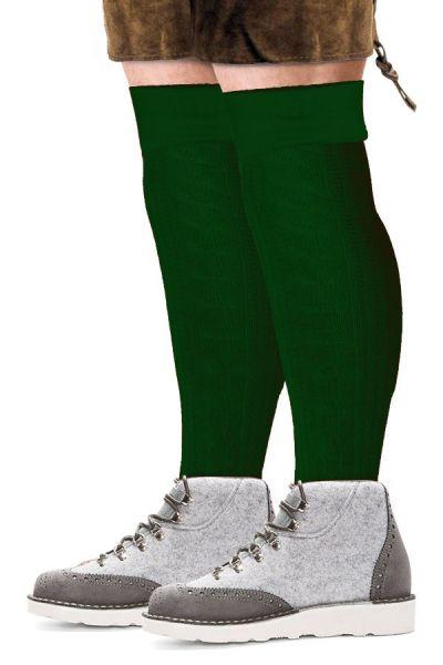 Oktoberfest Tiroler sokken lang groen