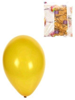 Ballonnen Goud 100 stuks nr 12
