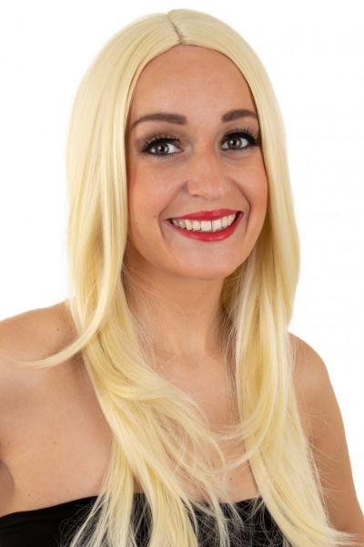 Damespruik blond wasbaar