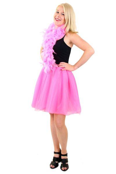 Tule rock & roll kleedje roze