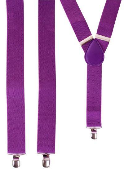 Bretels kleur paars
