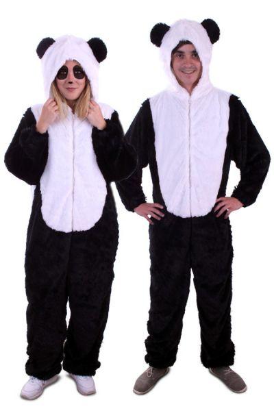 Dierenpak Panda pluche