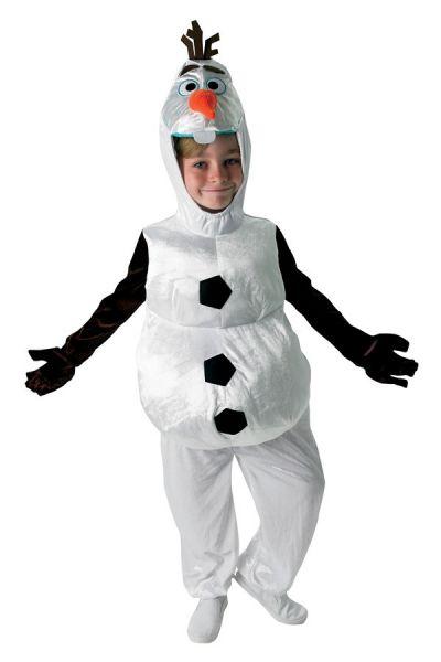 Olaf Frozen Sneeuwpop kinder verkleedkledij
