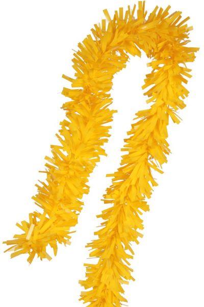 Guirlande Folie gedraaid geel