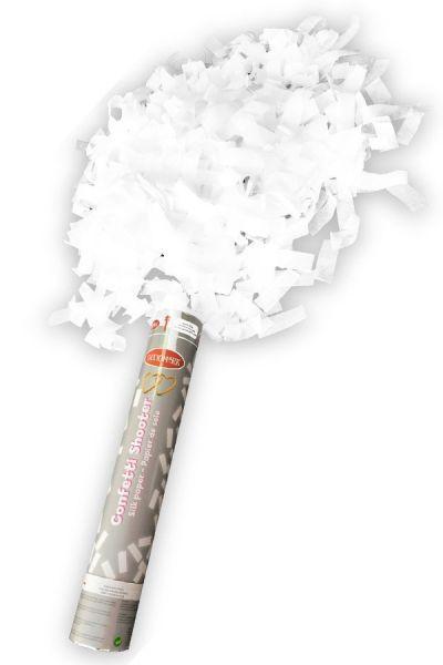 Partycanon wit papier 30 cm papier strip