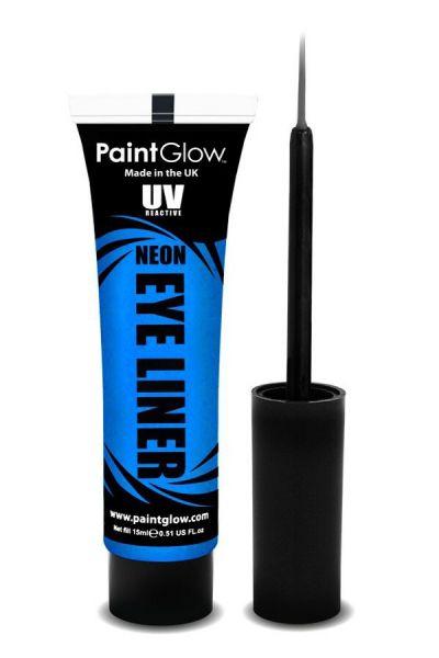 PaintGlow NEON UV Eyeliner blauw