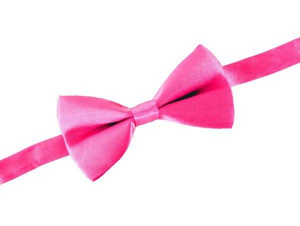 Luxe Toppers clownsstrik satijn pretty in pink