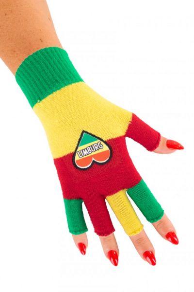 Vingerloze handschoenen met hartje Limburg