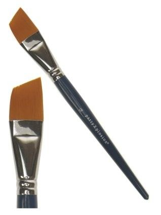 PXP one stroke angular eyebrow brush nr. 14 size 25 mm