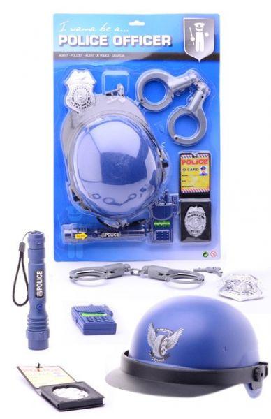 Politie uitrusting speel set