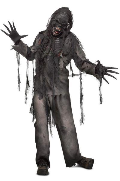 Halloweenkostuum verbrande Zombie Horrorkostuum