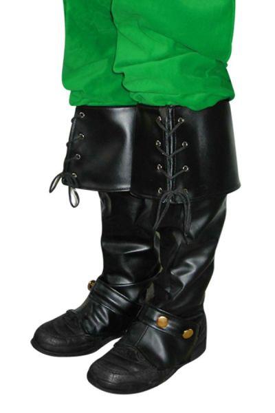 Musketier Kerstman laars kappen zwart