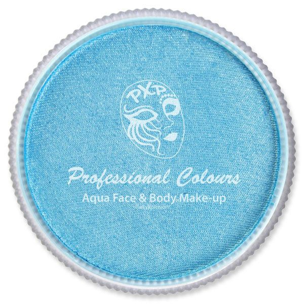 PXP Aqua schmink Pearl hemelsblauw PartyXplosion