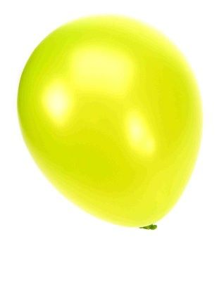 Kwaliteitsballon metallic appelgroen