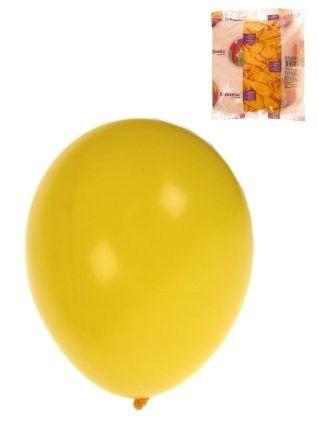 Helium ballonnen Geel 100 stuks