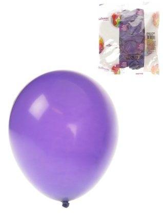 Helium ballonnen Paars 100 stuks