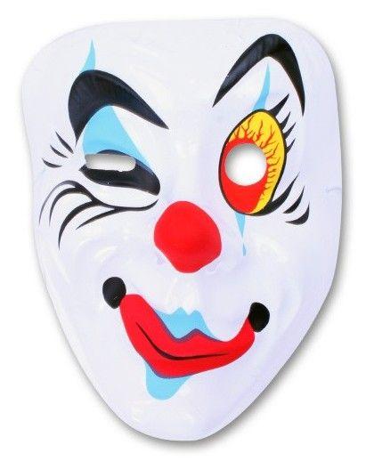 Masker Pierrot knipoog